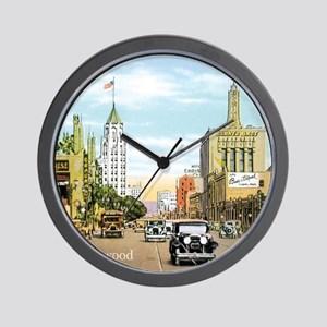 Vintage Hollywood Wall Clock