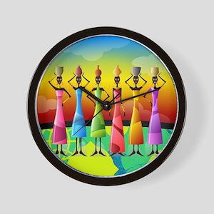 African American Women Wall Clock