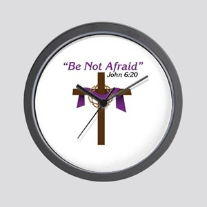 Be Not Afraid John 6:20 Wall Clock