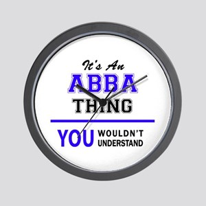ABBA thing, you wouldn't understand! Wall Clock