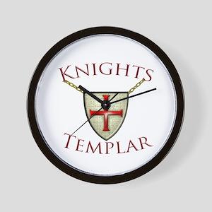 Templar Wall Clock