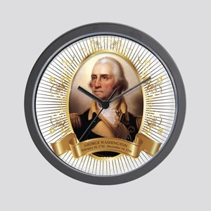 George Washington Portrait Wall Clock