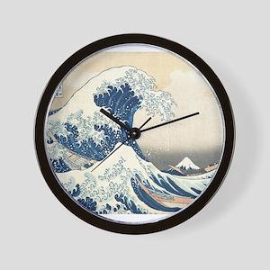 Wave Detail Wall Clock
