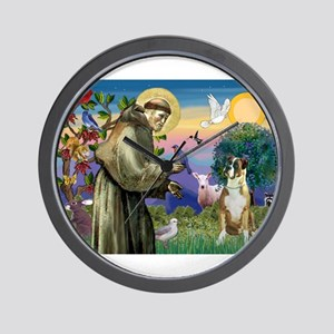 Saint Francis & Boxer Wall Clock