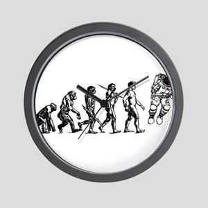Astronaut Evolution Wall Clock