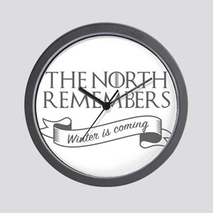 The North Remembers Winter is Coming Ga Wall Clock
