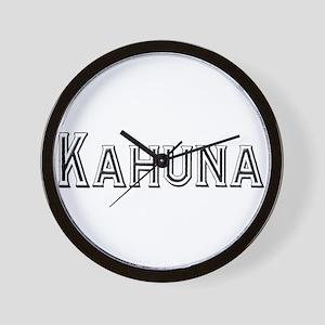 Kahuna Wall Clock
