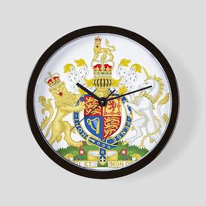 Royal COA of UK Wall Clock