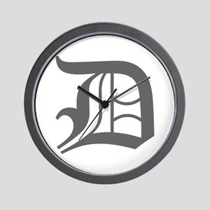 D-oet gray Wall Clock