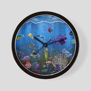Underwater Love Wall Clock