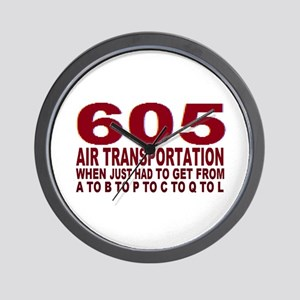 605 air trans Wall Clock