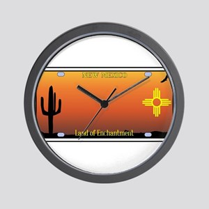 New Mexico License Plate Wall Clock