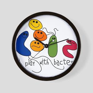 play bacteria w Wall Clock
