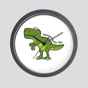 Tyrannesaurus Wall Clock