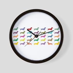dach-multi-mug Wall Clock