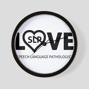LOVE SLP Wall Clock