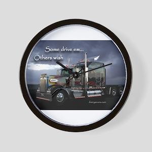 Truckers Wall Clock
