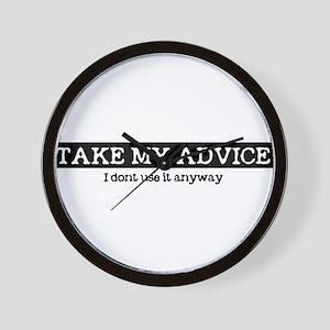 advice Wall Clock