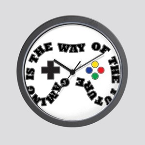 Future Gaming Wall Clock