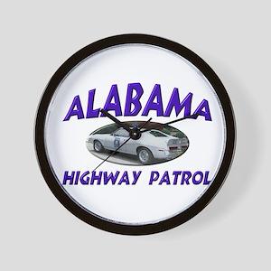 Alabama Highway Patrol Wall Clock