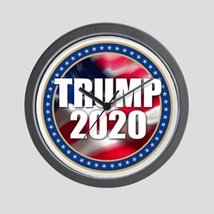 Trump 2020 Wall Clock