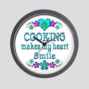 Cooking Smiles Wall Clock