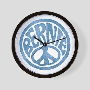 60s Peace Bernie Wall Clock