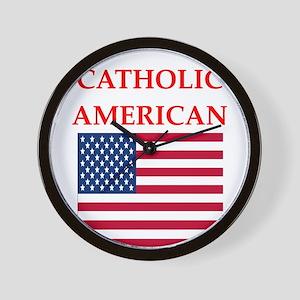 catholic Wall Clock