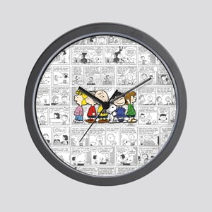 The Peanuts Gang Wall Clock