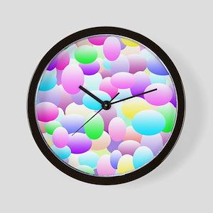 Bubble Eggs Light Wall Clock