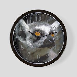 Lemur Eyes Wall Clock
