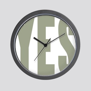 The Very Positive Wall Clock