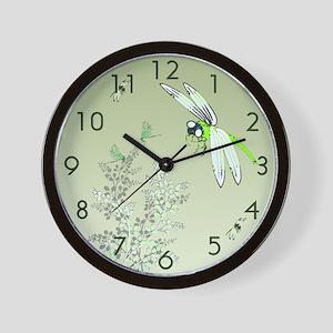 Dragonflies Wall Clock