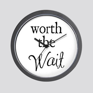 Worth the Wai Wall Clock