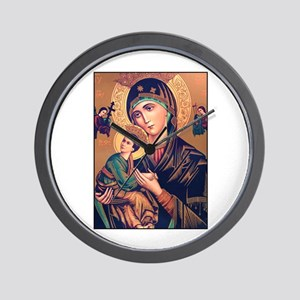 Virgin Mary - Our Lady of Per Wall Clock