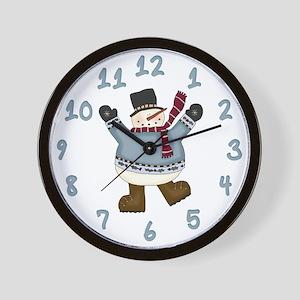 It's Snowtime Wall Clock