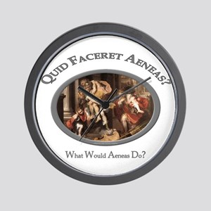 What Would Aeneas Do? Wall Clock