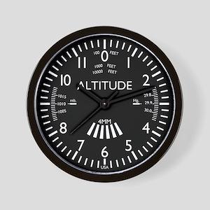 Aviation Altimeter Wall Clock