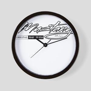 mustang Wall Clock