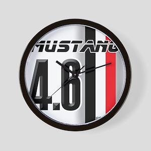 Mustang 4.6 Wall Clock