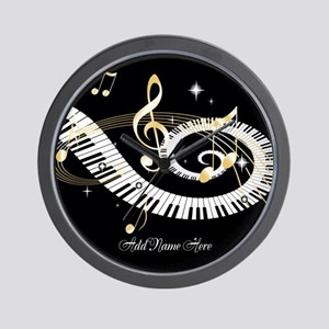 Personalized Piano Musical gi Wall Clock