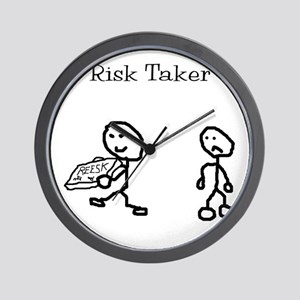 Risk Taker Wall Clock