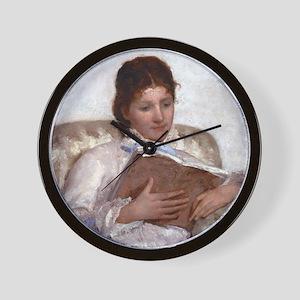 Mary Cassatt The Reader Wall Clock