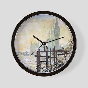 Claude Monet Westminster Bridge Wall Clock