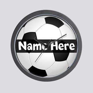Personalized Soccer Ball Wall Clock