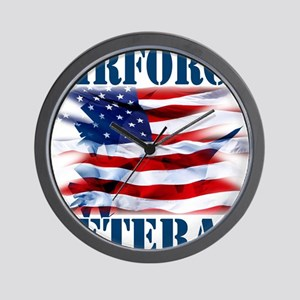 Airforce Veteran copy Wall Clock