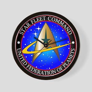 Star Fleet Command Wall Clock