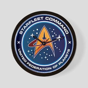 Star Trek Federation Of Planets Wall Clock