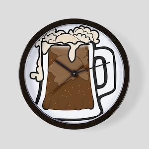 Root Beer Float Wall Clock