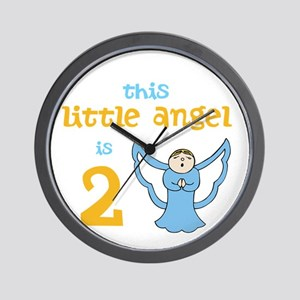 little angel custom age Wall Clock